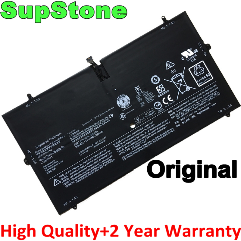 SupStone Genuine Original L13M4P71 L14S4P71 Laptop Battery For Lenovo Yoga 3 Pro 1370,YOGA 3 Pro-I5Y71,YOGA 3 Pro-I5Y70(F)