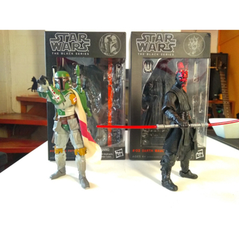 Star Wars The Black Series 3 Boba / Darth Maul 6 PVC Action Figure Anime Comic Gift Toys with Box