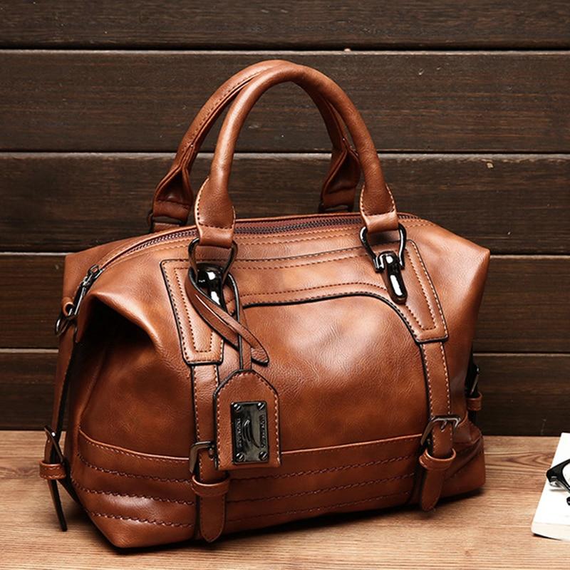 Women Bag Hand Bags Women Leather Handbag Crossbody Bags For Women Ladies Clutch Boston Bag Bolsa Feminina Bolso Mujer