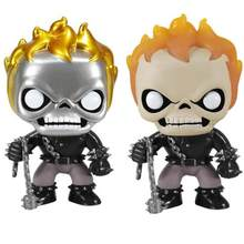 FUNKO POP Anime Ghost Rider Vinyl Ghost Doll Action Figures Collection Movie Model Toys for Children Gift(China)