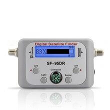 טלוויזיה מקלט מפענח דיגיטלי לווין Finder אותות Meter עבור Directv FTA אות מצביע SF 95DR אקראי צבע