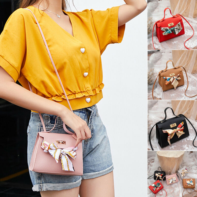 The New Fall/winter Collection Comes With A Cross-slung Shoulder Bag PU Leather Envelope Crossbody Messenger Handbag Purse Small