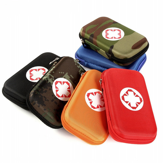 Camouflage First Aid Kit Black Red Waterproof EVA Bag Person Portable Outdoor Travel Security Emergency Kits Medical Treatment