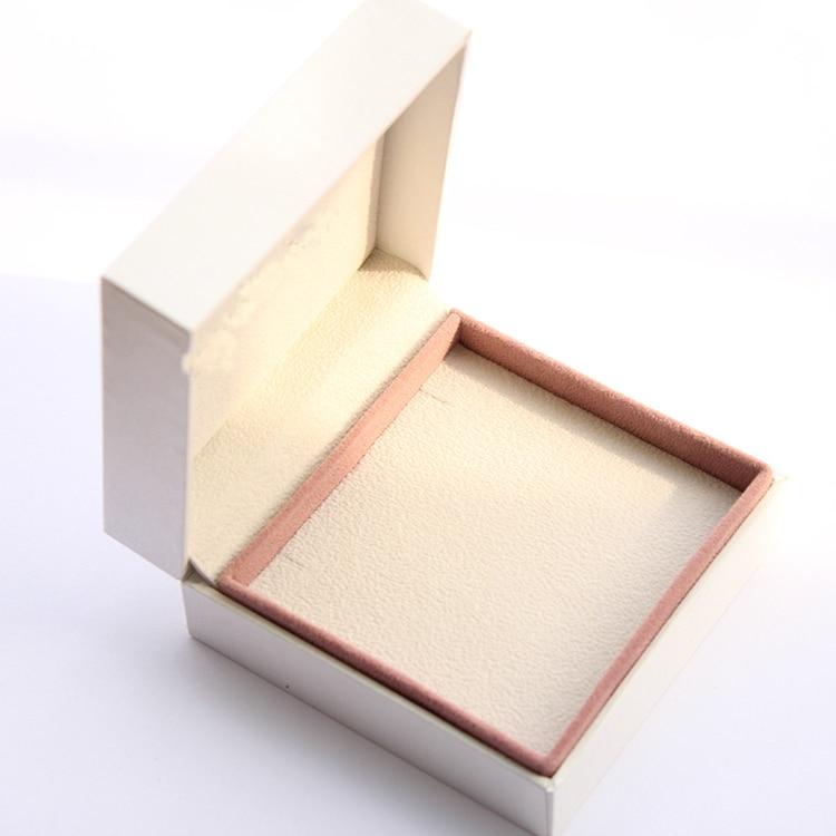 9*9*4 Cm Packaging Paper Box Bracelet Jewelry Display Ring Earrings Gift Box For Women Europe Velvet Bracelet Box Ring Storage