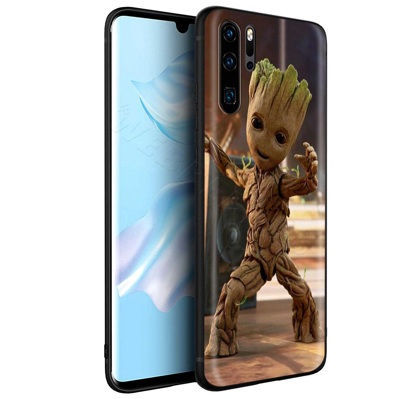 Webbedepp שומרים Groot מארוול מקרה עבור Huawei נובה 4E 5 5T P9 לייט חכם פרו Y6 Y7 2019 ראש כבוד 8A 20S