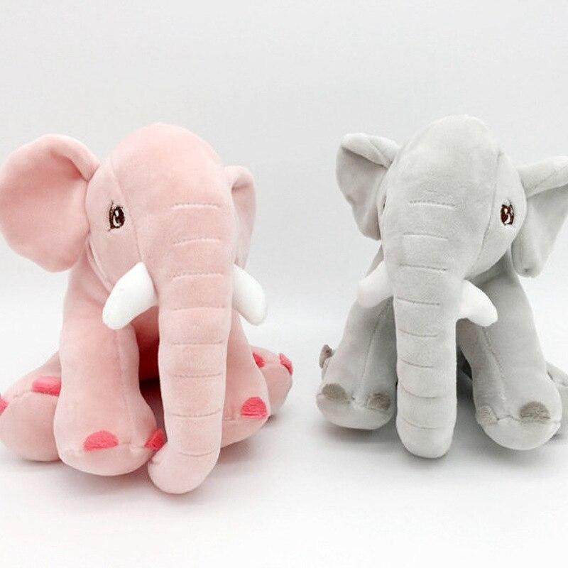 Speedline 20CM Small Elephant Plush Toy Baby Soft Cute Birthday Gift For Kids Accompany Doll Animal Pillow Newborn Cushion Doll