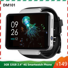 DM101 4G LTE Android Smart Watch 2.4