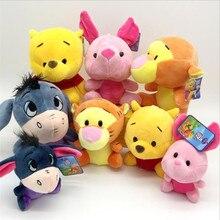 цена на Disney Mickey Mouse Minnie Anime Stuffed Doll Plush Toys Animals Stitch Tiger Vigny Bear Children Gifts