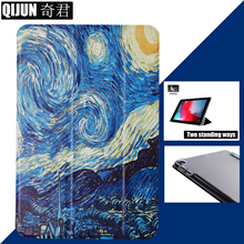tablet flip case for Apple ipad 9.7 2017 2018 Pro painting Smart wake UP Sleep fundas fold Stand cover capa card for Air Air2 tablet flip case for apple ipad pro 9 7 painting smart wake sleep fundas fold stand cover capa card skin for a1673 a1674 a1675