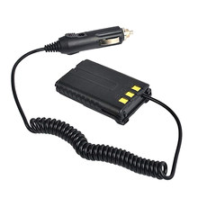 Chargeur de voiture adaptateur d'éliminateur de batterie 12V pour Baofeng UV-5R UV-5R UV-5R Plus UV-5RE PLUS Radio 2 voies