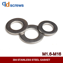304 316 M1.6-M16 stainless steel gasket