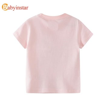 Babyinstar Children T Shirts For Girls Costume Happy Birthday Girls Tops Kids Clothing Boy T Shirt Brand Thanksgiving Shirt Girl 1