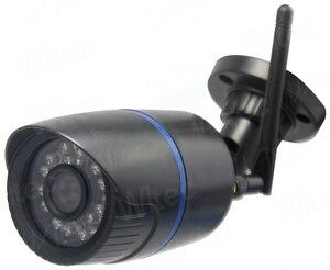 Image 5 - Kamera Wifi wodoodporna 128G karta SD kamera IP 1080P IR ONVIF bezpieczeństwo ruch humanoidalny Alarm P2P Cam Reset bezprzewodowa chmura