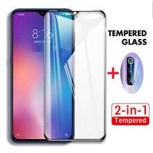 2-in-1 Tempered Glass for Xiaomi 9 9SE Mi9 lite pro CC9 E Camera Lens Film Protective Screen protector for Xiaomi 9 SE Mi 9lite for xiaomi mix 2 2s screen protector for xiaomi 9 9se tempered glass 3x stronger 3d full coverage for xiaomi mi9 protector film