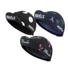 NEW Morvelo Cycling Hat Cap Bike Ciclismo Bicicleta Pirate Headband Cycling Cap Bicycle Helmet sweat cap men head scarf 2019(China)