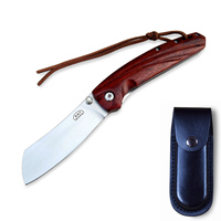 Folding Knife Camping Pocket Knife Survival knife Hunting Tools Wood Handle AUS-8 Steel 58HRC for Men Hiking Outdoor Adventure