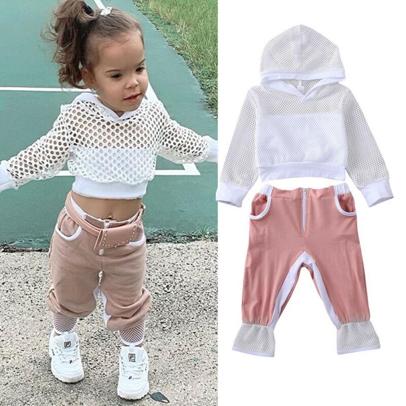 Leggings Hosen Outfit Mode Kleinkind Baby Mädchen Kleidung Langarm T-shirt Top