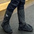 2019 Dia de Chuva Sapatos de Chuva Cobrir Botas de Chuva dos homens Ao Ar Livre Sapatos de Trabalho Reflexivo Evitar Escorregadias Sapatos Cobrir Sapatos de Água À Prova D' Água
