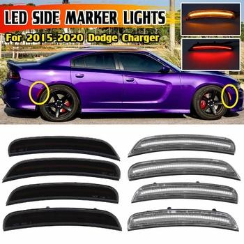 Wysokiej jakości błotnik samochodu Side Marker Repeater światła koła łuki Turn Signal kierunkowkaz lampa dla Dodge Charger 2015-2018 tanie i dobre opinie CN (pochodzenie) Signal Lamp