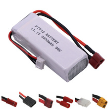 11.1V 3400mah 30C RC Lipo Battery For Feilun FT012 Huanqi 734 RC toys boat Helicopter