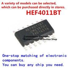 10 unidades/pacote chip hef4011bt, 653 smd hef4011 SOIC-14 quad 2-entrada nem chip lógica de portão