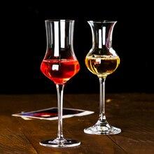 Тюльпан тастер аромат пахнущий кристалл бокал для бренди Кубок ликер шампанское ром виски стекло бар дома вечерние свадебные вина чашки