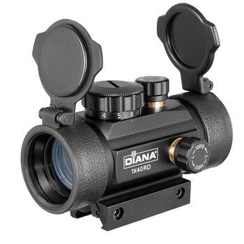 DIANA 3X42 Green Red Dot Sight Scope 2X40 Red Dot 3X44 Tactical Optics Riflescope Fit 11/20mm Rail 1X40 Rifle Sight for Hunting 5
