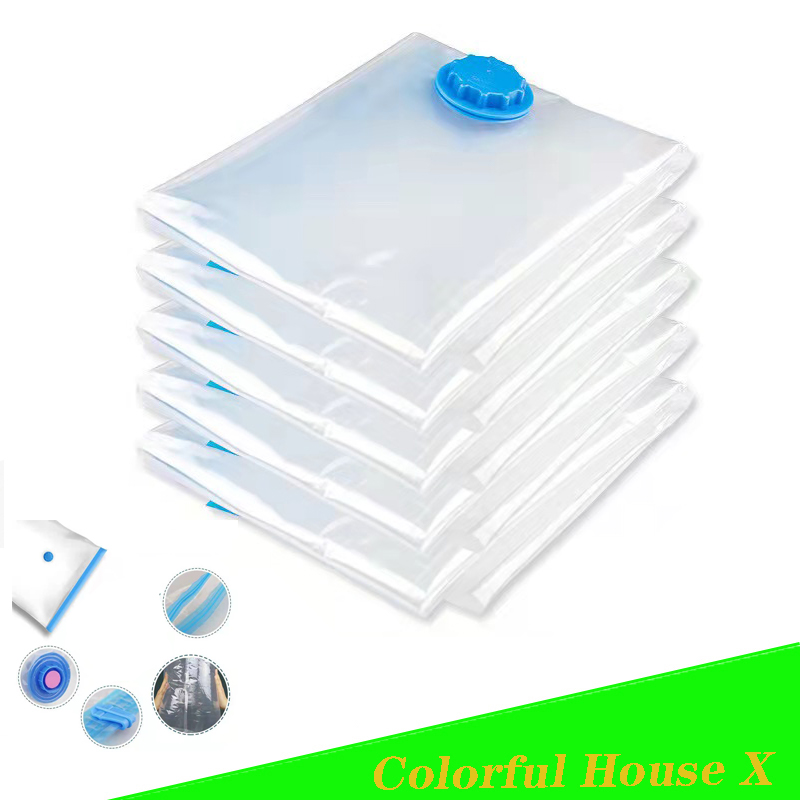 Quilts Clothes Vacuum Storage Bag Waterproof Compression Air Bag Foldable Dustproof And Moisture-Proof Household Storage Sack