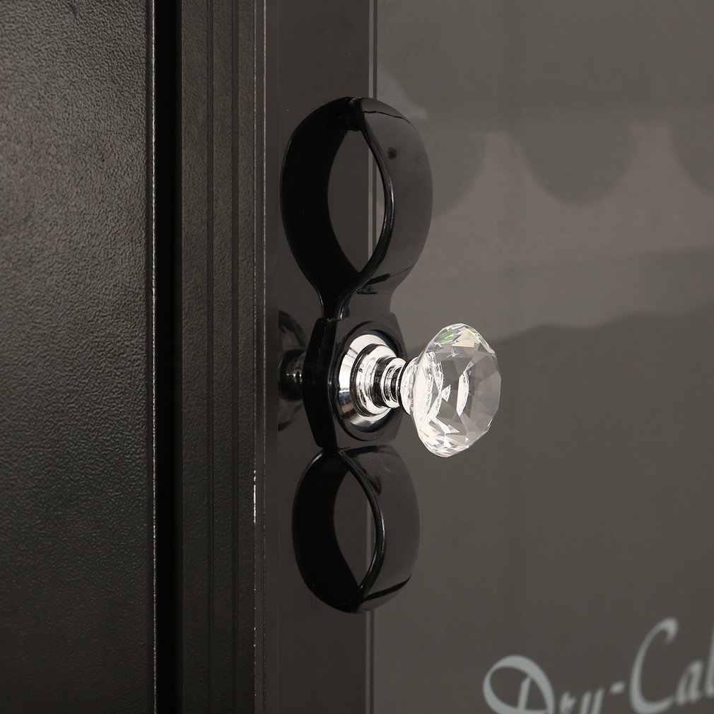 1 pc 30mm diamant clair cristal verre porte tirer tiroir armoire meubles accessoire poignée bouton vis chaude dans le monde entier
