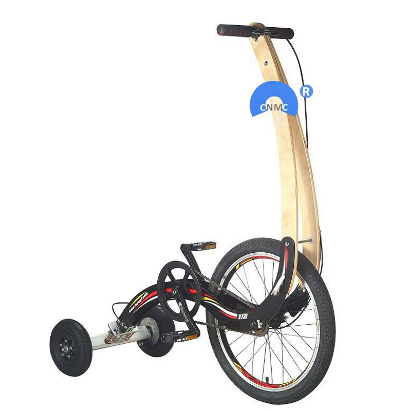 3 Wheel Gas Tricycle For Adults,half Bike Seatless Mobility Exercise Bicycle