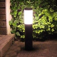 Thrisdar E27 Alumínio Pilar de luz Pátio Paisagem Do Jardim Ao Ar Livre Caminho Lawn Luz 40/60 CENTÍMETROS Pátio Ao Ar Livre Caminho Pós luz