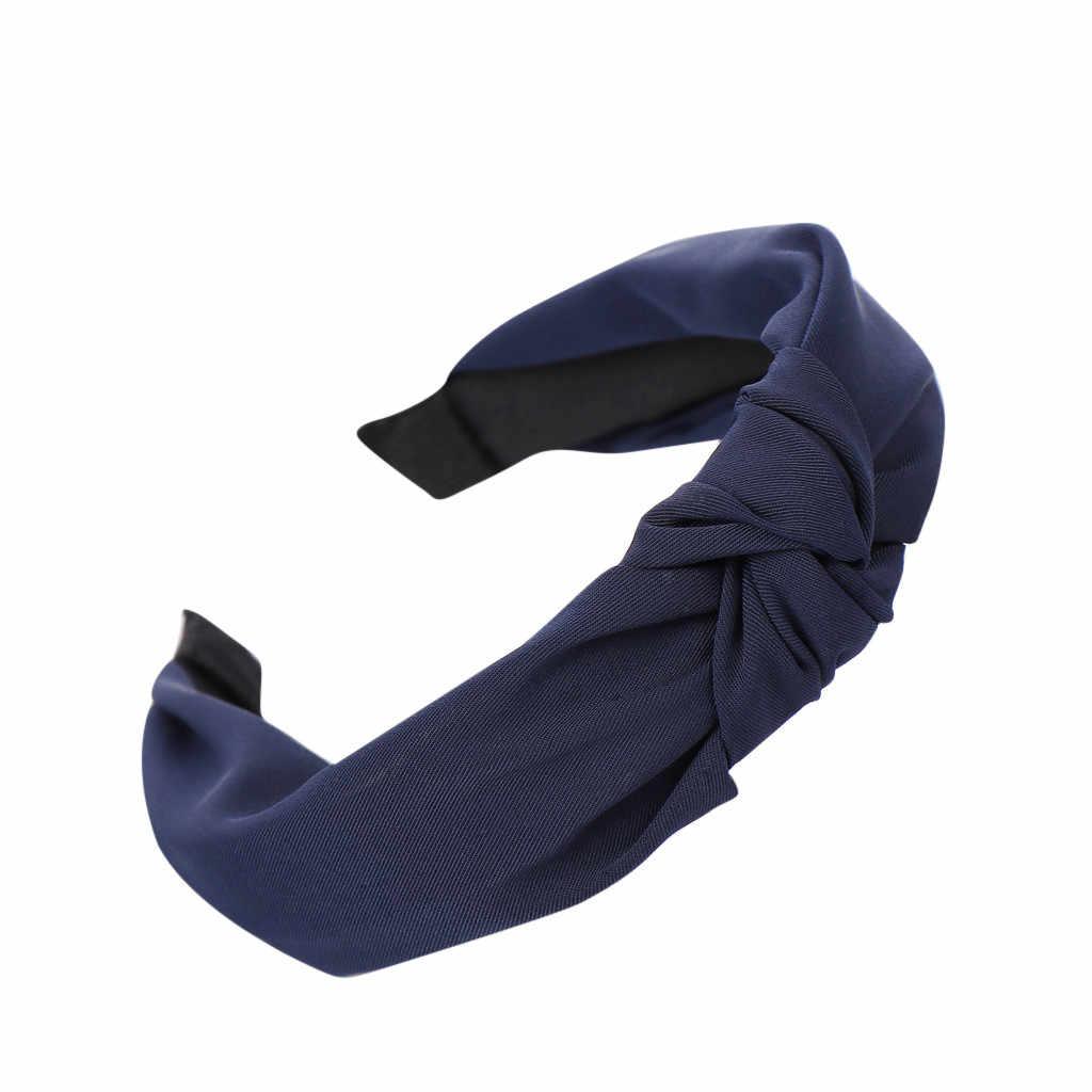 30 # di modo del Nodo Dell'arco Hairband Dei Capelli Delle Donne Testa Del Cerchio Semplice Dolce Dei Capelli Delle Ragazze Della Fascia Accessori Per Capelli резинки для волос
