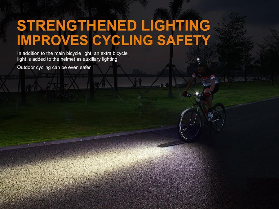 Image 3 - Original Fenix ALD 08 bicycle light helmet holder-in Portable Lighting Accessories from Lights & Lighting