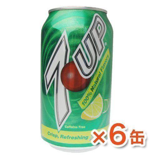 7up Seven Up - Zitrone-Limette Geschmack [6 Dosen] 355ml (k?nnen Pro Person 2 Satz Erworben Werden)