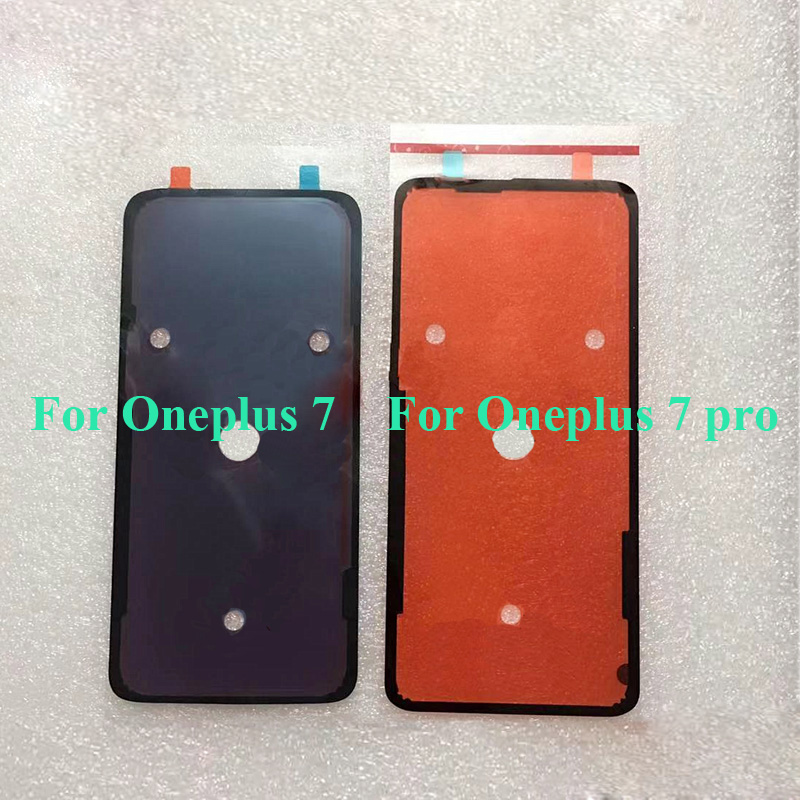 2PCS For Oneplus 7 Battery Back Cover Case 3MM Glue Double Sided Adhesive Sticker Tape For One Plus 7 Pro 7Pro Oneplus7 Pro
