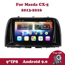 цена на Android 9.0 IPS 2G+32G Car Radio Multimedia Player For Mazda CX5 CX-5 CX 5 2012 2013 2014 2015 2 Din DVD Player USB BT HU MAP