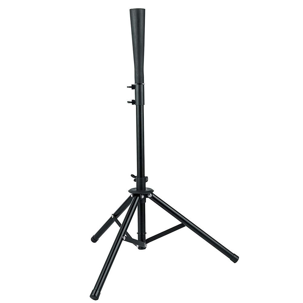 Batting Tee Baseball Tripod Stand Accessories Practical Durable Training Portable Adjustable Metal Steel Outdoor Softball Travel
