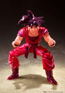 """Image 3 - """"Dragon Ball Z"""" 100% Original BANDAI Tamashii Nations S.H. Figuarts/figura de acción SHF Son Goku kaio ken"""