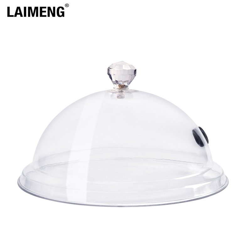 Laimeng Smoking Infuser Cloche Lid Dome Cover 8 10 12 Inch Specialized Accessory For Smoker Gun Plates Bowls And Glasses S270