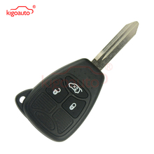 Kigoauto Remote head key 3 button 434Mhz 045892299AC for Chrysler Dodge 300C Calibre Nitro Voyager fuel pump module assembly for 1996 2000 chrysler voyager town country dodge caravan plymouth voyager e7094m ty 122a