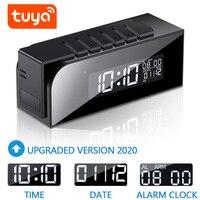 Yoothi Tuya Cámara reloj Digital WIFI visión nocturna cámara de seguridad para el hogar de la vigilancia IP Mini cámara IP WIFI Full HD 1080P