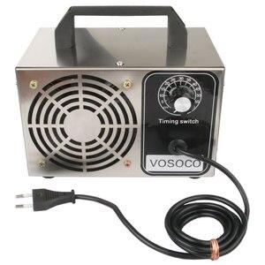 Image 2 - 60 g/h generatore di ozono 48 g/h ozonizzatore portatile purificatore daria trattamento sterilizzatore aggiunta di ozono alla macchina di ozono formaldeide