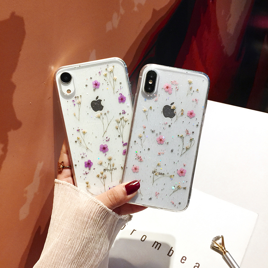 Flowers Soft Case for iPhone SE (2020) 40
