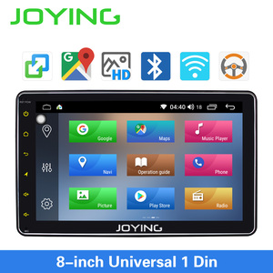 Image 2 - JOYING single din universal car radio 8 inch IPS screen autoradio head unit GPS suport mirror link& fast boot&s*back up camera