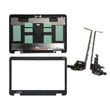 غطاء لاب توب جديد لـ HP Probook 650 G2 655 G2 الغطاء الخلفي 840724 001 غطاء خلفي LCD غير لمس/إطار أمامي/مفصلات LCD