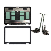 Novo escudo do portátil para hp probook 650 g2 655 g2 tampa traseira 840724 001 non touch 6070b0939701 lcd capa traseira/lcd moldura dianteira/dobradiças