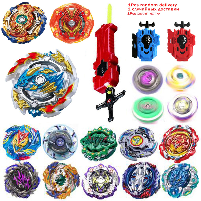 Tops <font><b>Burst</b></font> Launchers <font><b>Beyblade</b></font> GT Toys <font><b>B</b></font>-<font><b>131</b></font> <font><b>Burst</b></font> bables Toupie Bayblade metal fusion God Spinning Tops Bey Blade Blades Toy image