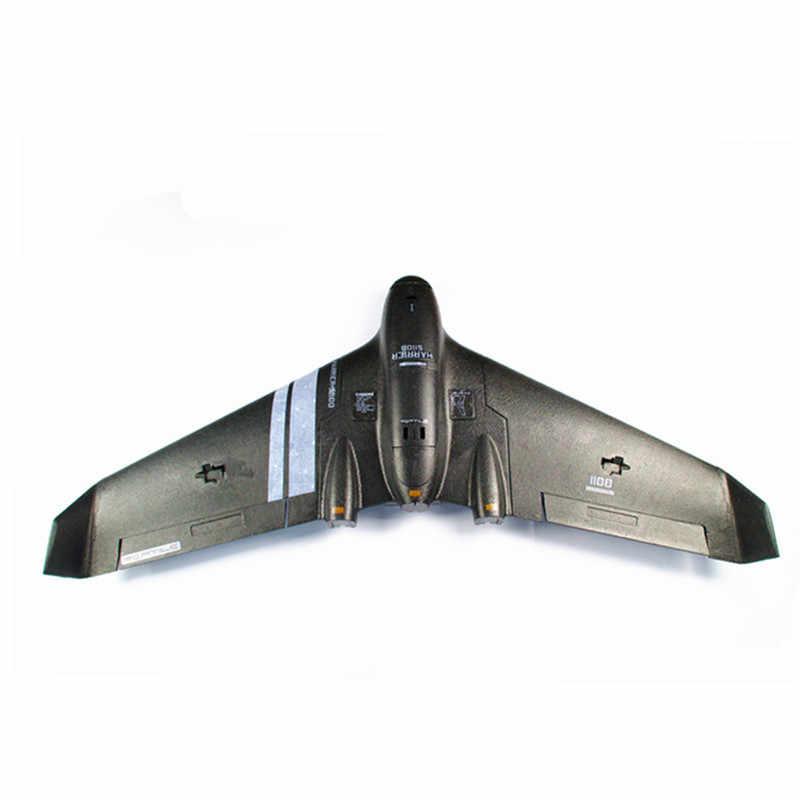 Reptiel S1100 Zwart 1100Mm Spanwijdte Epp Fpv Vliegende Vleugel Rc Vliegtuig Kit Rc Speelgoed Voor Kinderen Jongens Geschenken