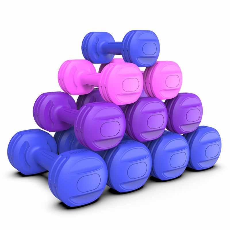 2 adet kadınlar halter spor dambıl ağırlıkları spor salonu halter zayıflama  Fitness ve vücut geliştirme plastik dambıl Fitness ekipmanları|build a  house cheap|building modeldumbbell handle - AliExpress