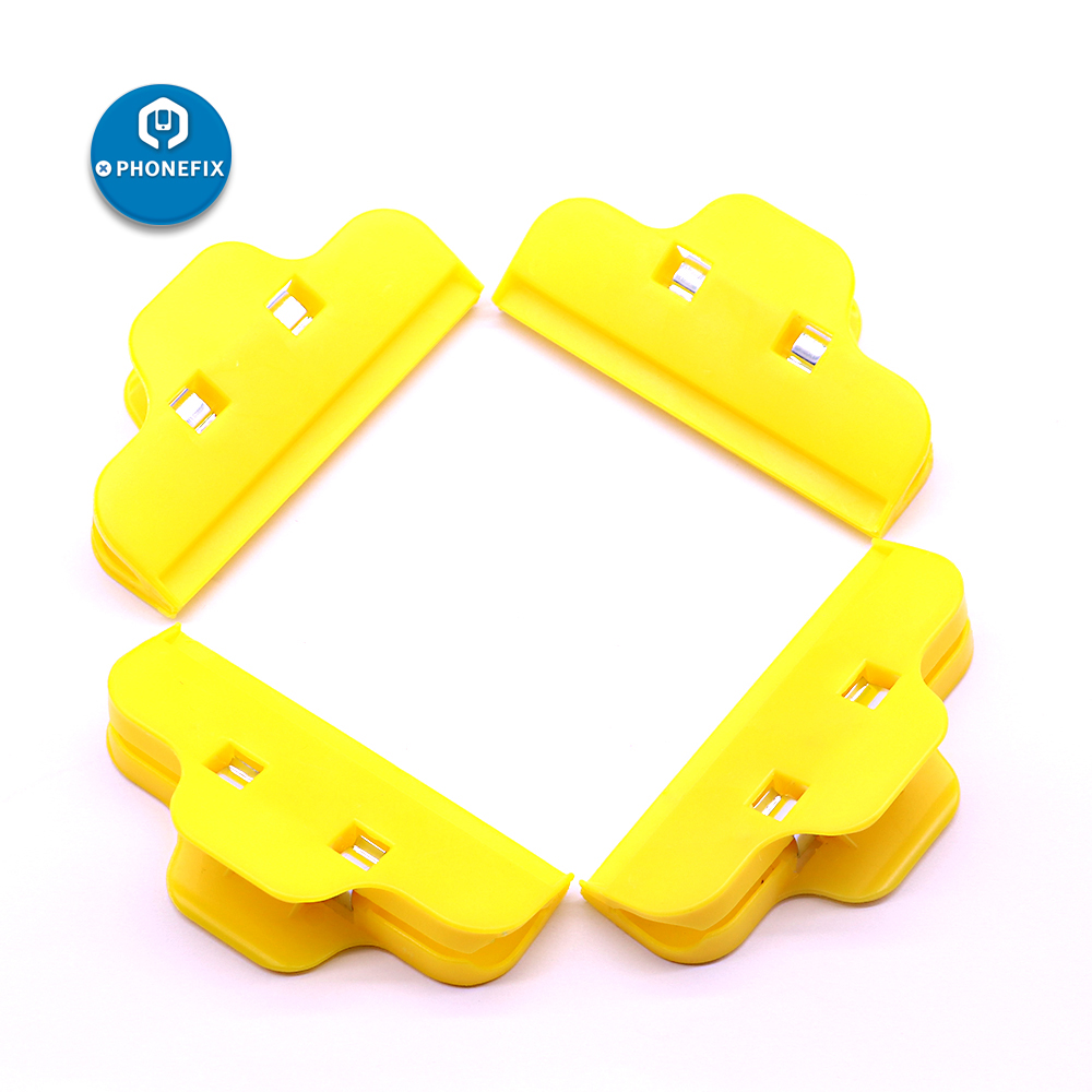4pcs Plastic Clip Fixture Fastening Clamp LCD Screen Repair Holder For IPhone IPad Repair Tools